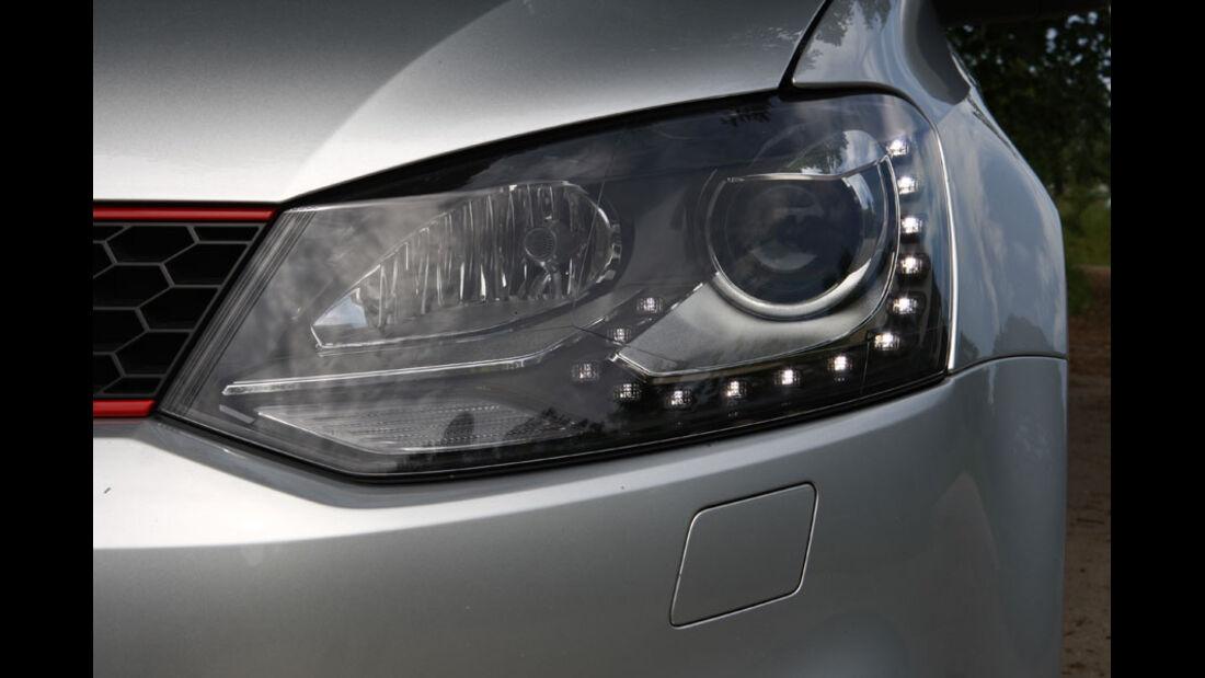VW Polo GTI, Scheinwerfer, LED