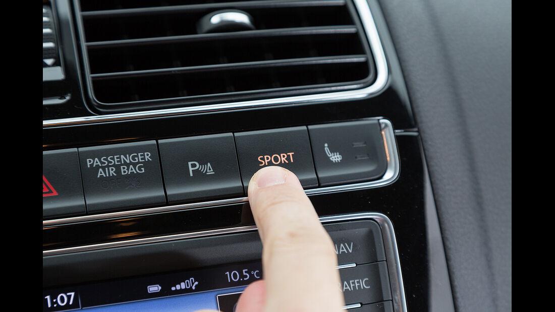 VW Polo GTI, Sport-Taste
