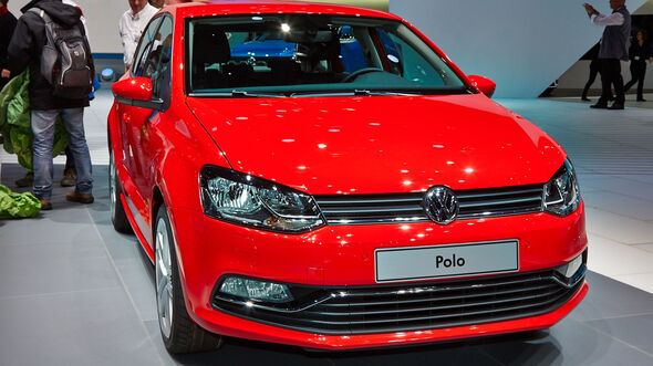 VW Polo, Genfer Autosalon, Messe 2014