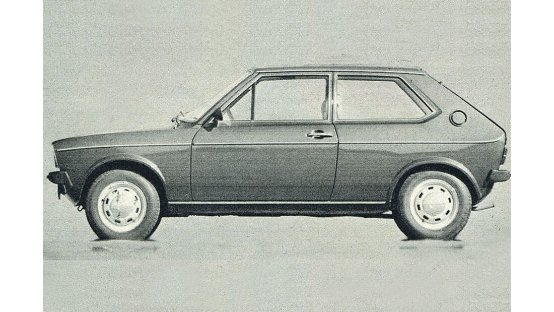 VW, Polo, IAA 1977