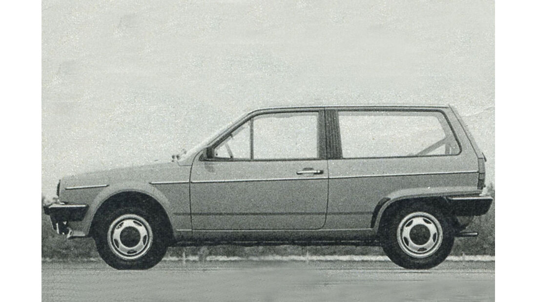 VW, Polo, IAA 1981