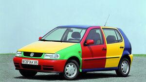 VW Polo III Harlekin