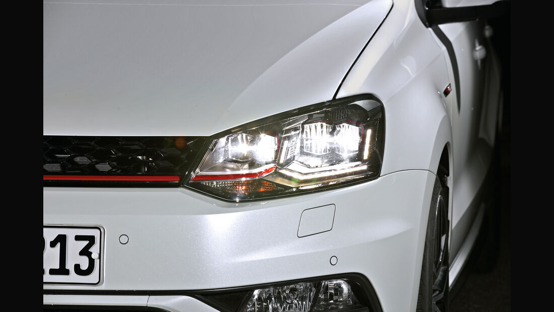 VW Polo, LED-Scheinwerfer