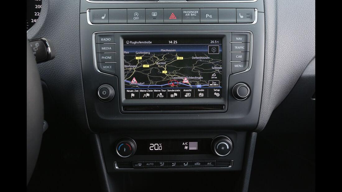 VW Polo, Mittelokonsole