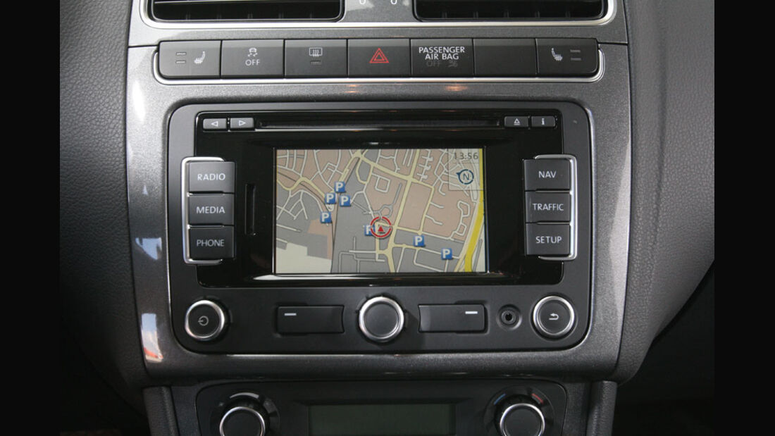 VW Polo, Navigationssystem