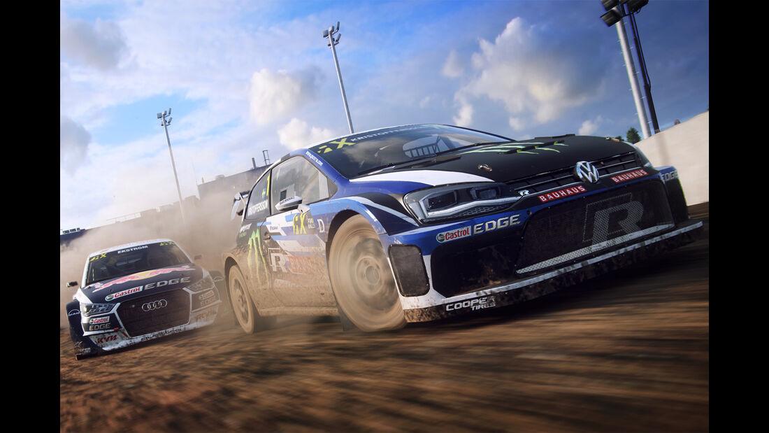 VW Polo R Supercar - Dirt Rally 2.0 - Rennspiel - Codemasters