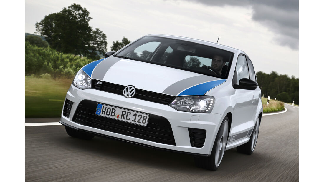 VW Polo R WRC, Frontansicht