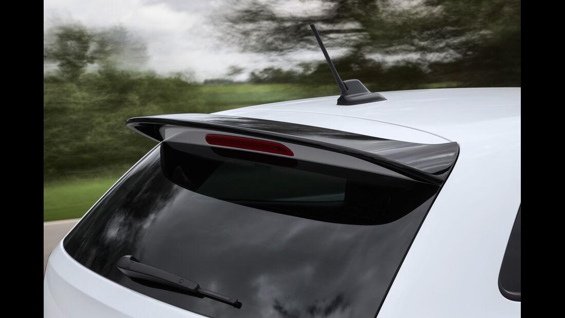 VW Polo R WRC, Heckschürtze