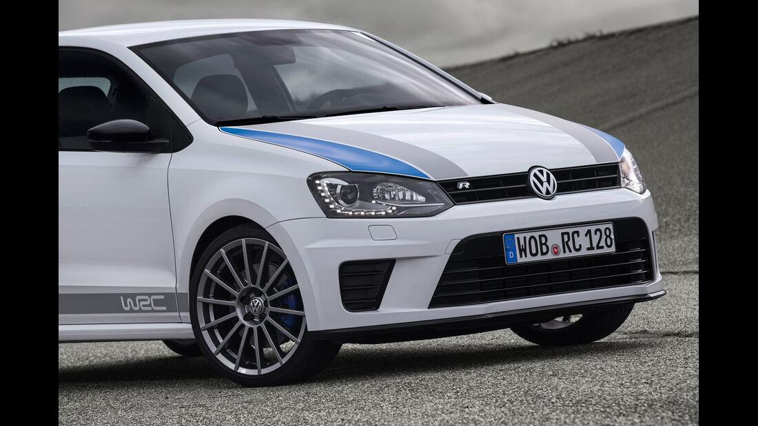 VW Polo R WRC, Motorhaube