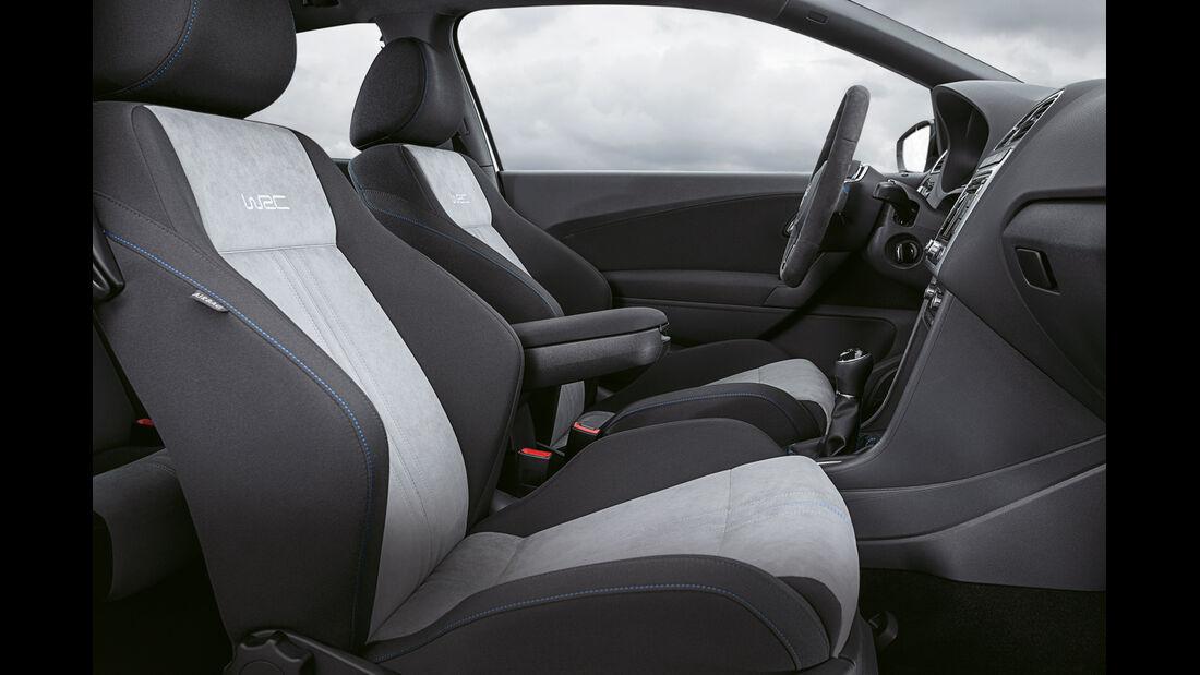 VW Polo R WRC, Sitze
