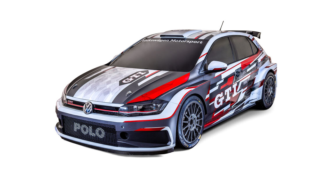 VW Polo R5 - Rallye Monte Carlo 2018