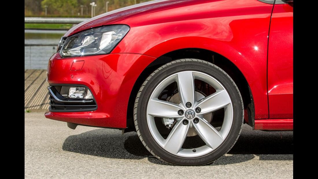 VW Polo, Rad, Felge