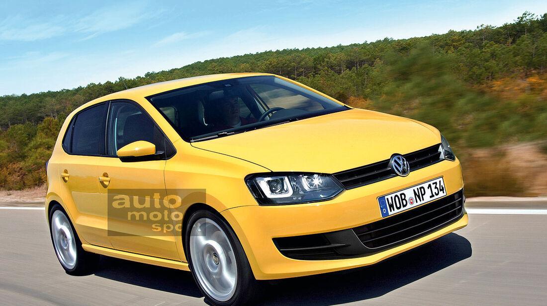 VW Polo Retusche