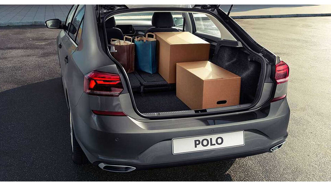 VW Polo Sedan Limousine Russland