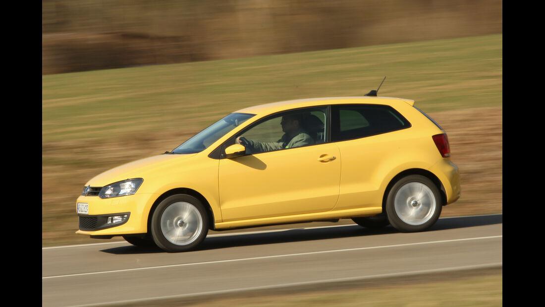 VW Polo, Seitenansicht