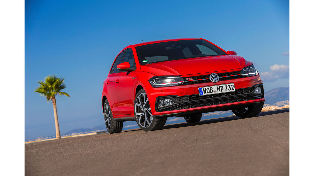 VW Polo VI GTI (2018) AW 2G rot Front