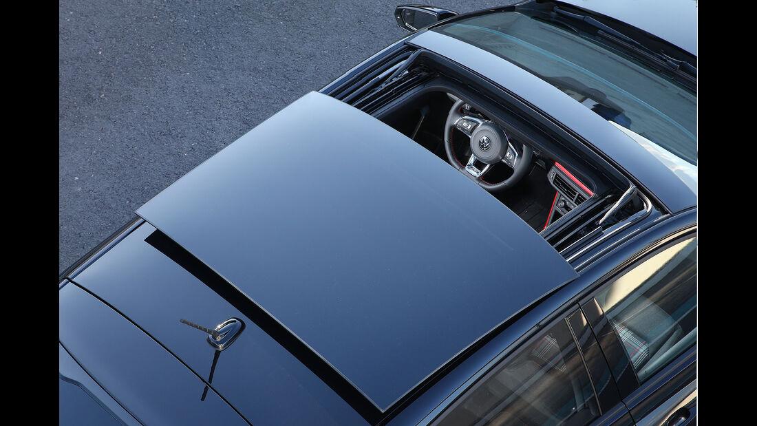 VW Polo VI GTI (2018) AW 2G schwarz Panorama-Glasdach