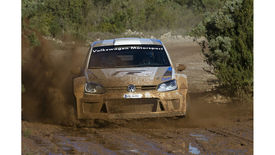 VW Polo WRC 2012 Test