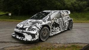 VW Polo WRC 2017 - Erlkönig - Testfahrten 2016