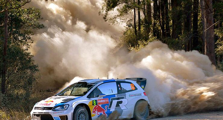 VW Polo WRC Australien 2013