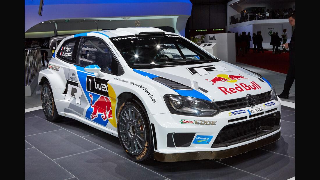 VW Polo WRC - Autosalon Genf 2014