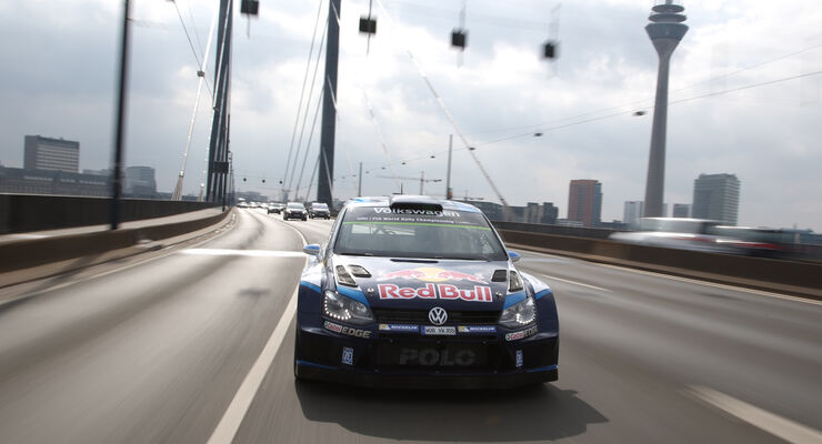 VW Polo WRC, Frontansicht