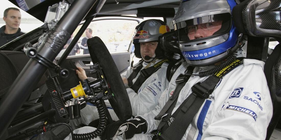 VW Polo WRC Hackenberg Test Veldenz 2011
