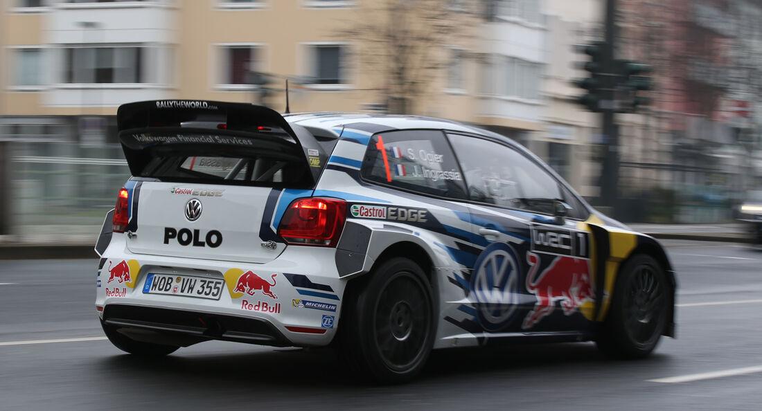 VW Polo WRC, Heckansicht