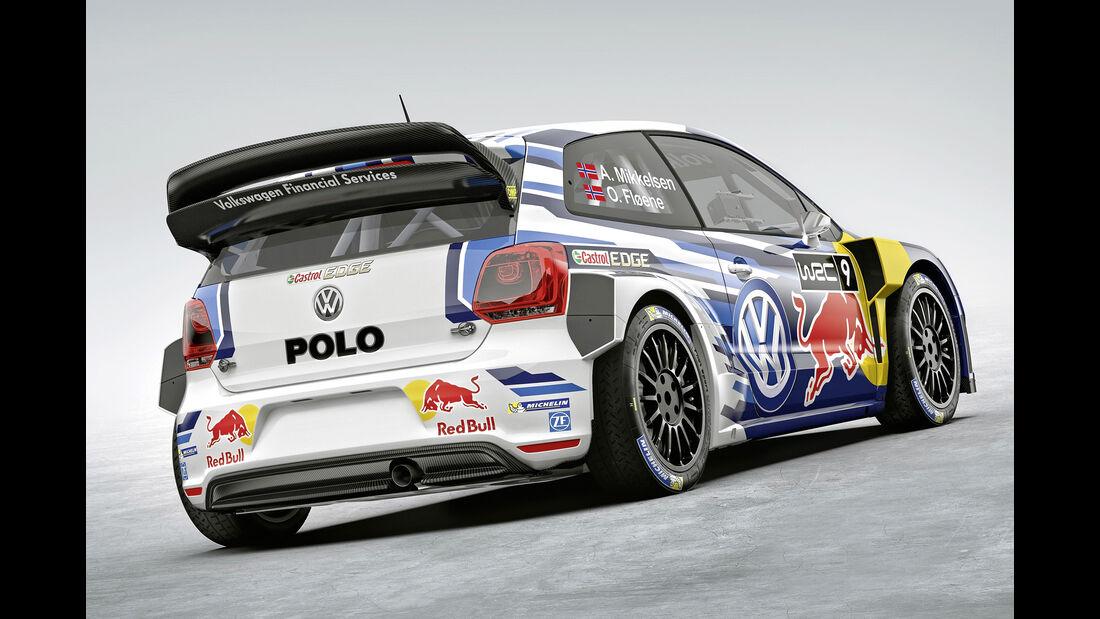 VW Polo WRC - Heckflügel