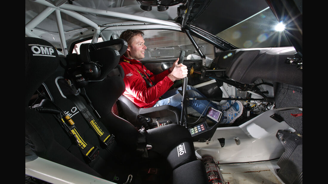 VW Polo WRC, Interieur, Cockpit