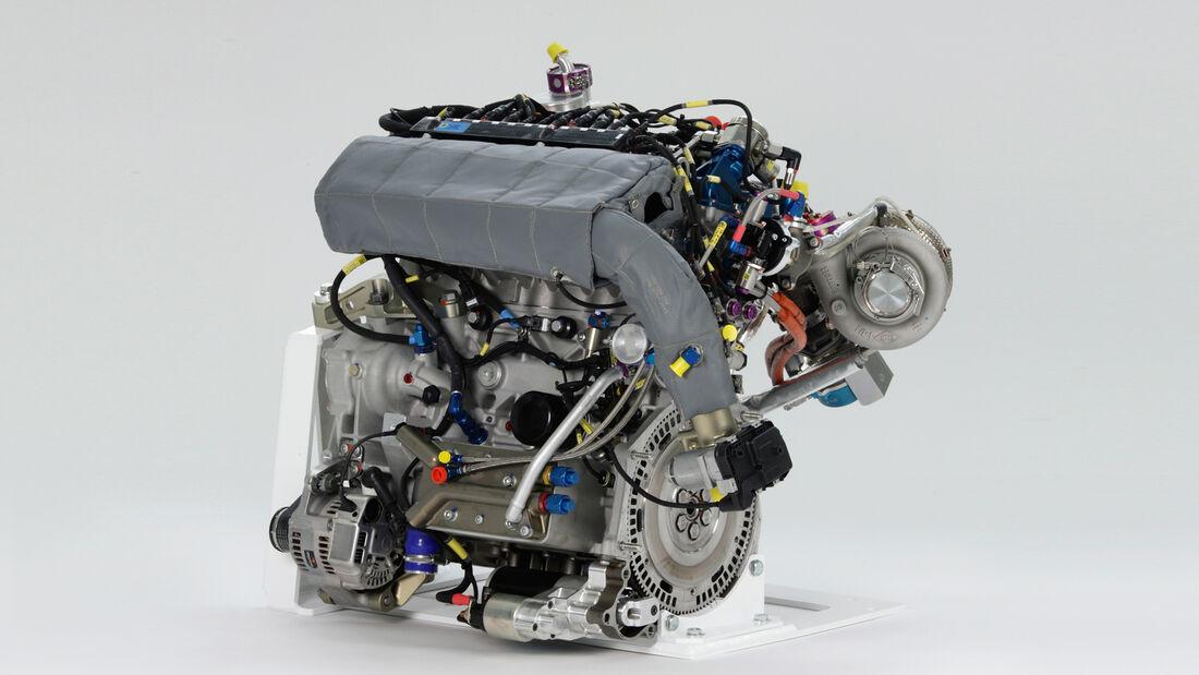 VW Polo WRC - Motor