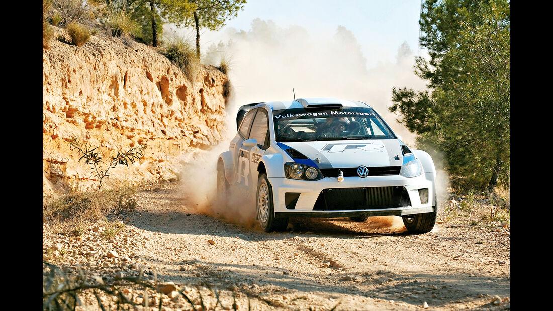 VW Polo WRC, Rallye