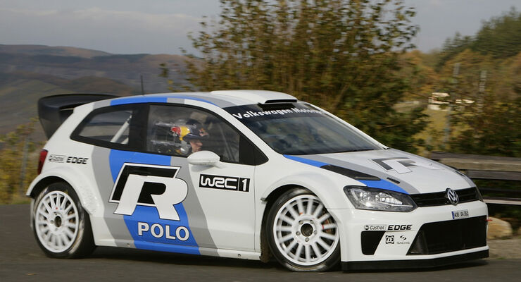 VW Polo WRC Sainz Test Veldenz 2011