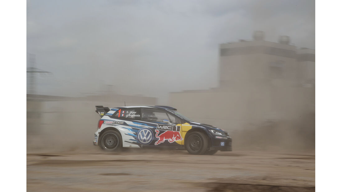 VW Polo WRC, Seitenansicht
