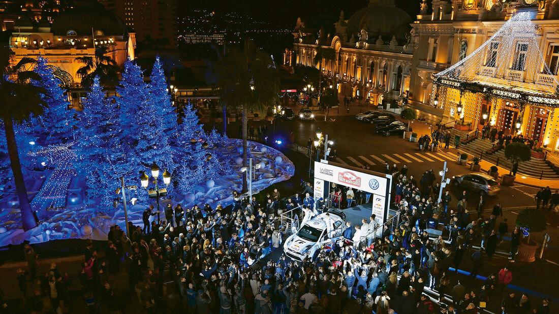 VW Polo WRC, Vorstellung, Mote Carlo