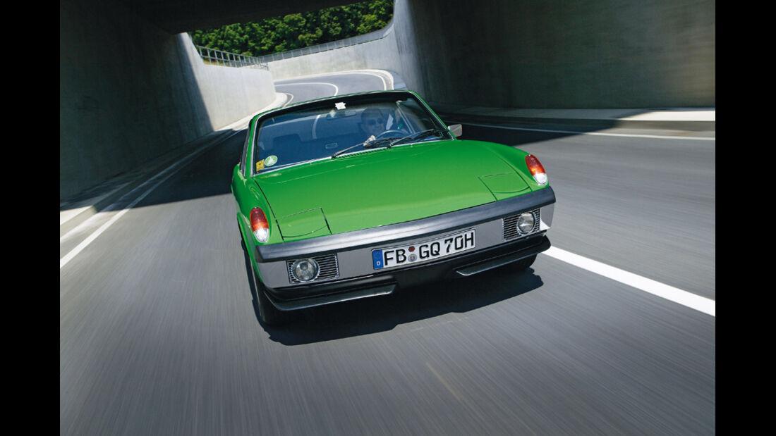 VW-Porsche 914/6, Frontansicht