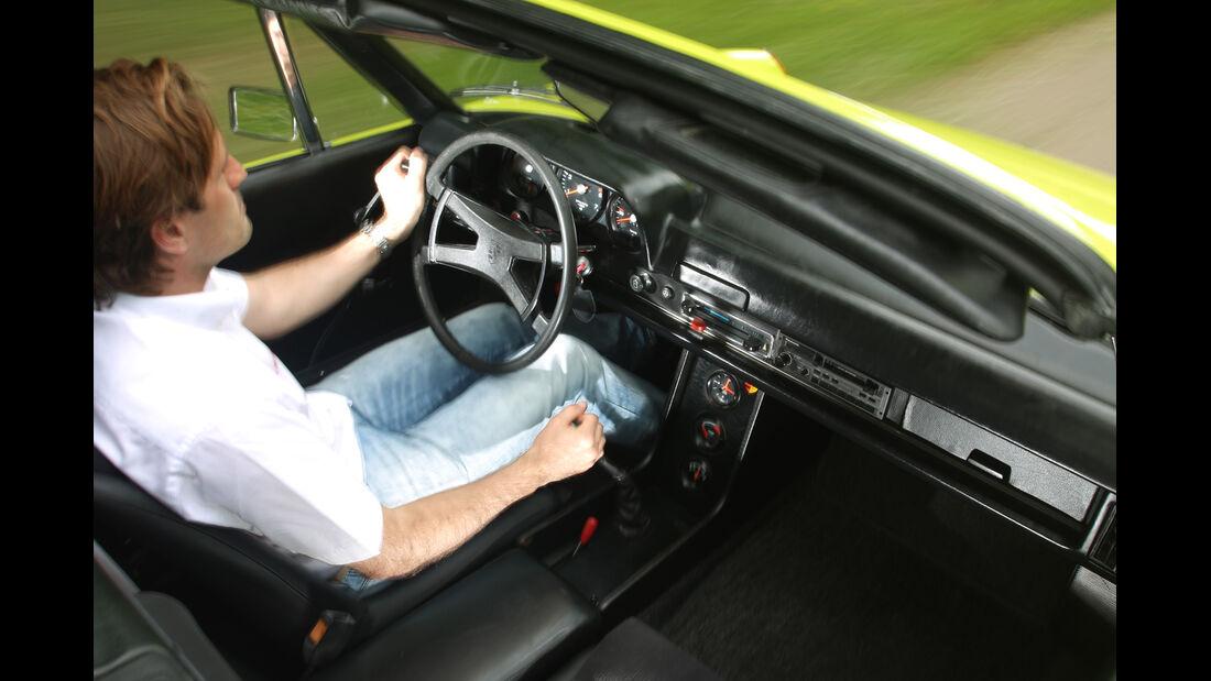 VW-Porsche 914, Cockpit