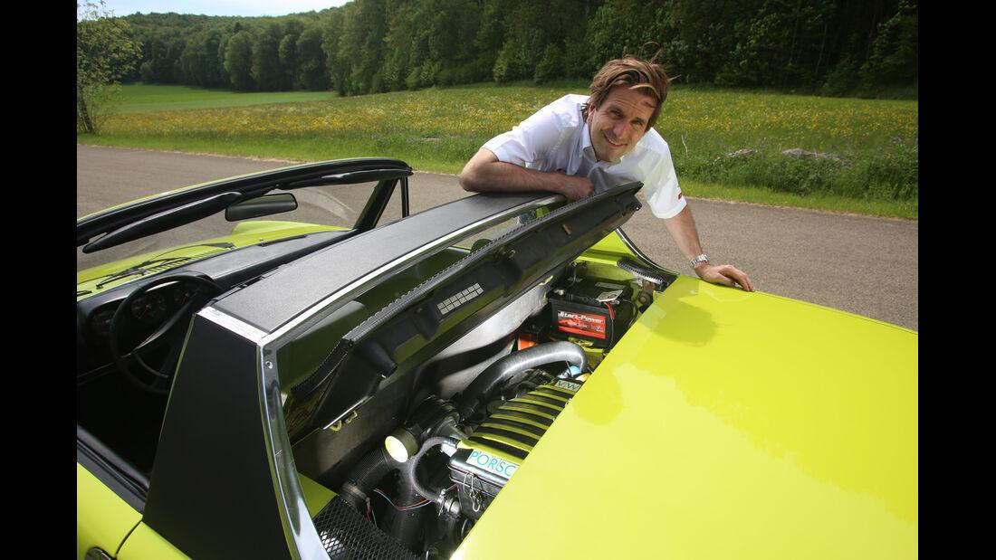 VW-Porsche 914, Motor