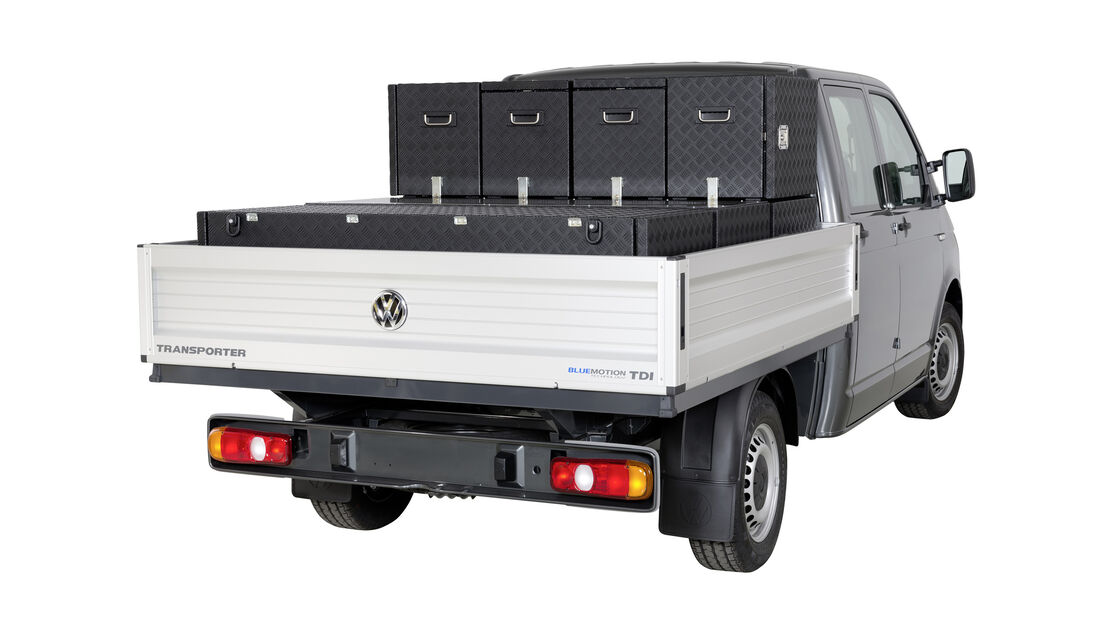 VW Pritsche Container