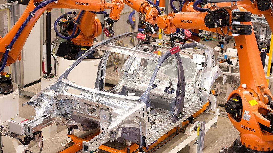 VW Produktion Fertigung Werk Emden