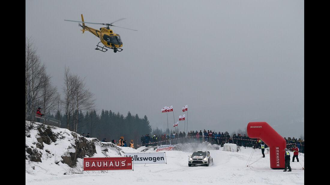 VW - Rallye Schweden 2014