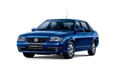 VW Santana SAIC China