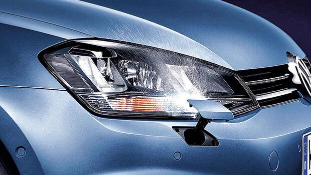 VW Scheinwerfer-Reinigungsanlage