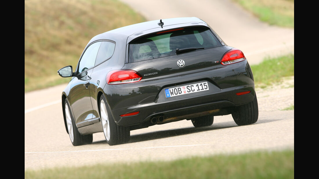VW Scirocco 1.4 TSI, Heckansicht