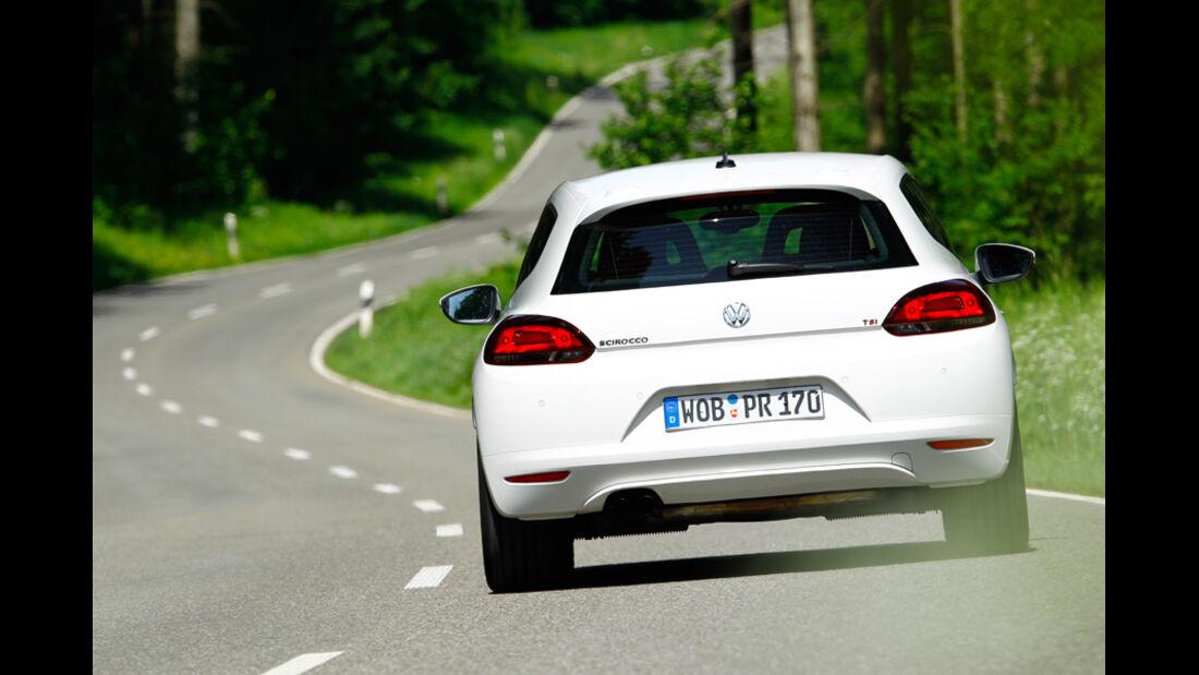VW Scirocco 1.4 TSI, RŸckansicht, Heck