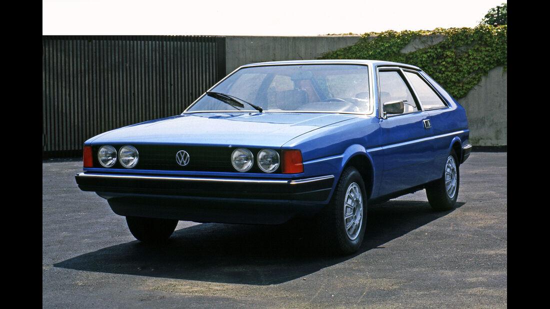VW Scirocco, 1. Generation, Concept, Auto der Woche