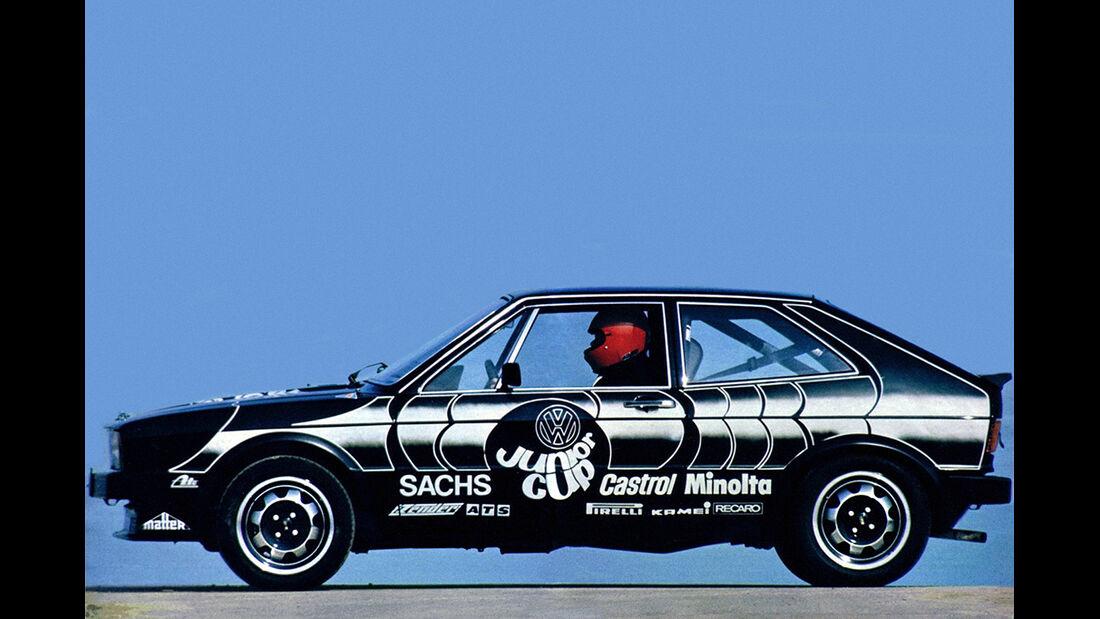 VW Scirocco, 1. Generation, VW Jnuior Cup, Auto der Woche