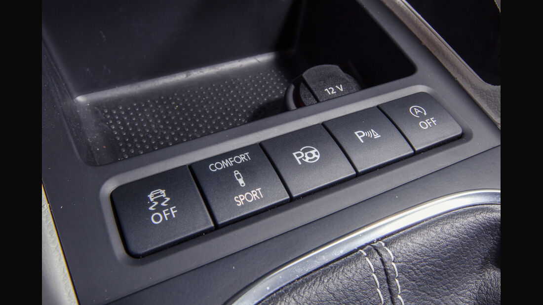 VW Scirocco 2.0 TSI, Bedienelemente