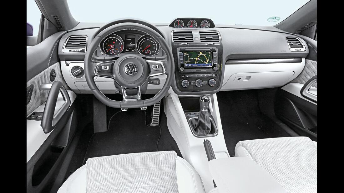 VW Scirocco 2.0 TSI, Cockpit