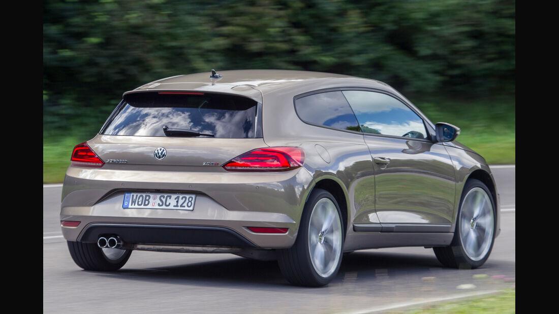 VW Scirocco 2.0 TSI, Heckansicht
